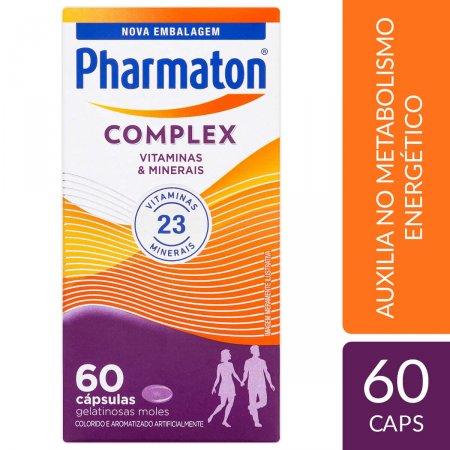 Complexo Vitamínico Pharmaton Complex com 60 cápsulas