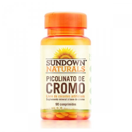 Picolinato de Cromo Sundown com 90 Capsulas | Foto 1