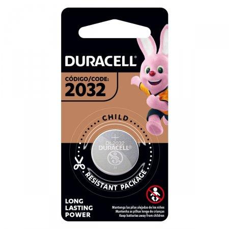 Pilhas Duracell Tipo Moeda de Lítio 2032 com 1 unidade