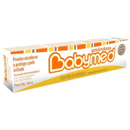 Pomada para Prevenção de Assaduras Babymed Amêndoas
