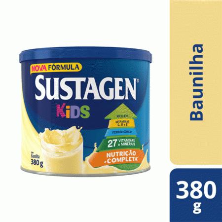 Suplemento Alimentar Sustagen Kids Sabor Baunilha