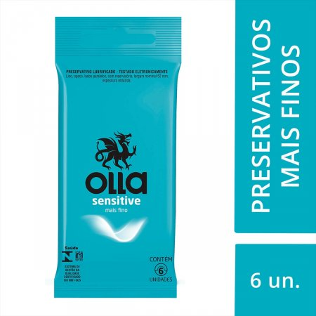 Preservativo Olla Sensitive