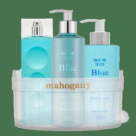 Kit Mahogany Make Me Fever Blue com Ofurô Cristal