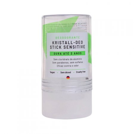 Desodorante Alva Kristall Deo Stick Sensitive com 120g