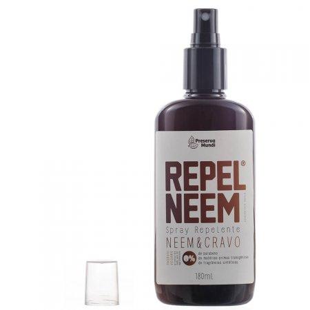 Repelente de Insetos Natural Use Orgânico Preserva Mundi Repel Neem & Cravo Spray com 180ml