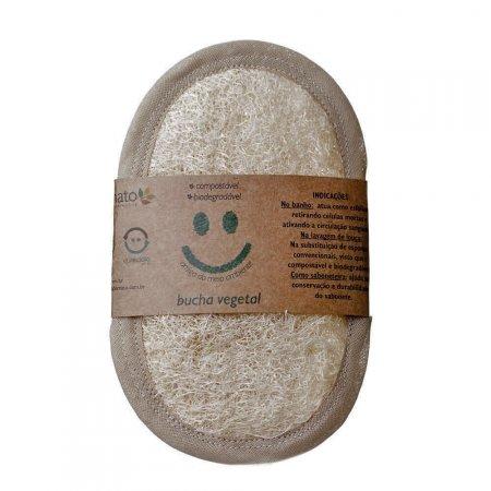 Bucha Vegetal Natural Ares de Mato Biodegradável e Compostável