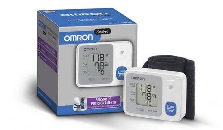 Monitor Digital de Pressão de Pulso HEM-6124 Omron