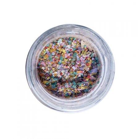 Glitter Pura BioGlitter Biodegradável Ecológico Pó de Unicórnio 1g