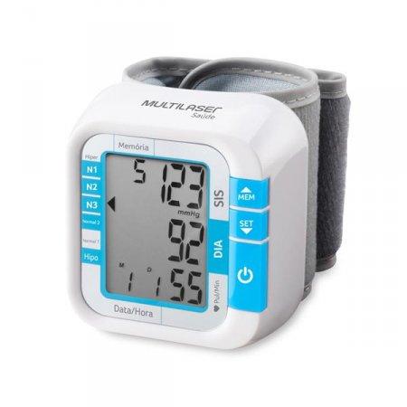 Monitor de Pressão Multilaser Arterial de Pulso - HC204