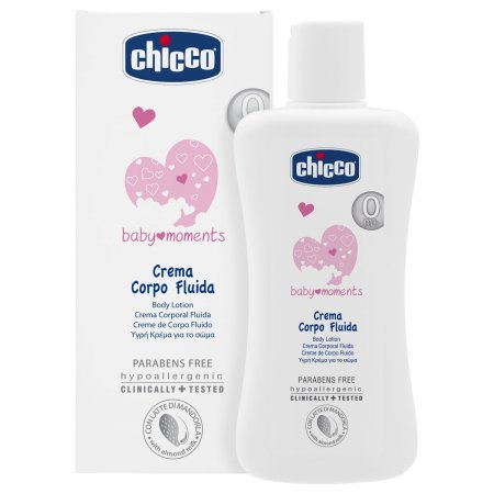 Creme Corporal 200ml Baby Moments (0m+) - Chicco