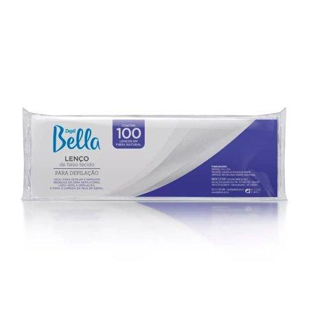 Lenço Depilatório Depil Bella Gran Style Branco 100 Folhas