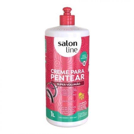 Creme Para Pentear Salon Line Super Volumão 1l