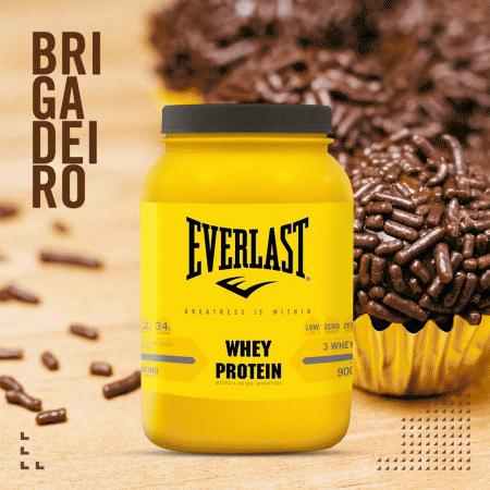 Everlast Whey Protein 3W Sabor Brigadeiro