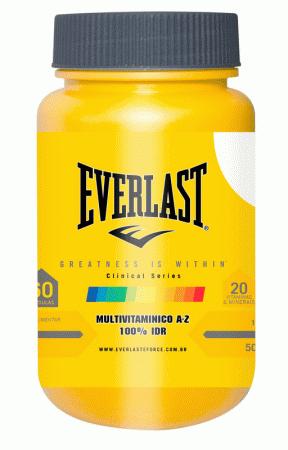 Everlast Clinical Series - Multivitamínico de A - Z 60 cápsulas