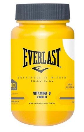 Everlast Clinical Series Vitamina D 2.000UI - 30 Cápsulas
