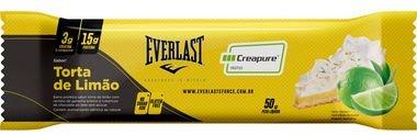 Barra de Proteína Everlast com Creatina Sabor Torta de Limão - 12 unidades