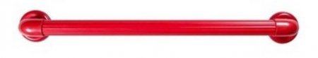 Barra de Apoio e Segurança em PVC Vermelho 60cm - Astra
