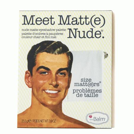 Paleta de Sombras The Balm Meet Matte Nude