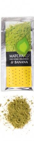 Chá Verde Shake Matcha Individual Banana