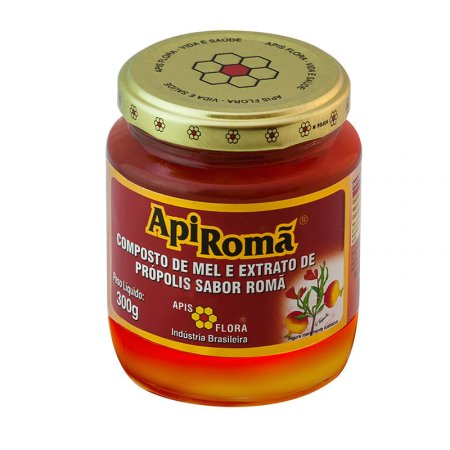 Apiroma Mel Apis Flora Propopolis Roma 300g