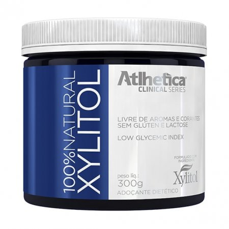Xylitol 100% Natural Atlhetica 300g
