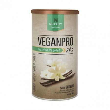 Vegan Protein Nutrify Baunilha 550g