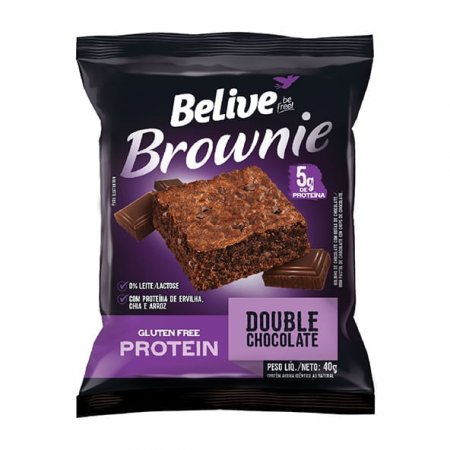Brownie Belive Double Chocolate Protein 40g