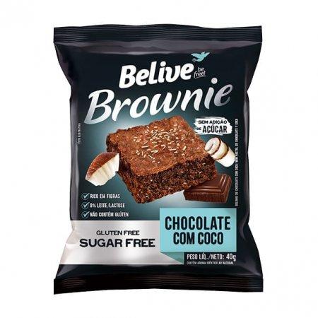 Brownie Belive Chocolate com Coco 40g