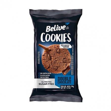 Cookie Belive Zero Sem Glúten Chocolate 34g