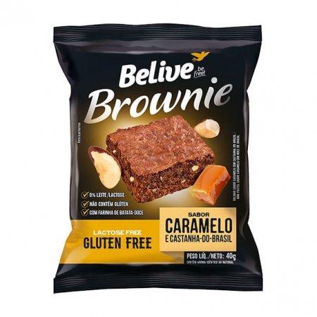 Brownie Belive Caramelo com Castanha do Pará 40g