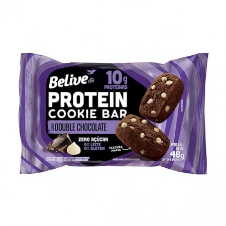 Protein Cookie Bar Belive Double Chocolate Zero 48g