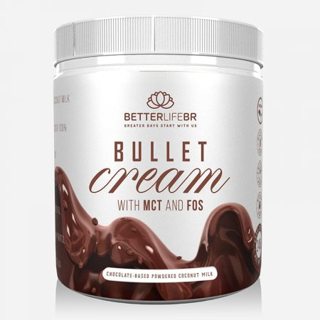 Bullet Cream Better Life With MCT FOS 240g