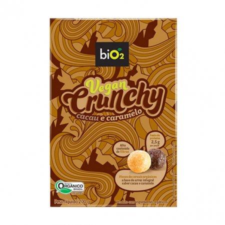 Vegan Crunchy biO2 Cacau e Caramelo 200g