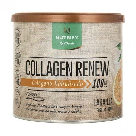 Collagen Renew Nutrify sabor laranja 300g