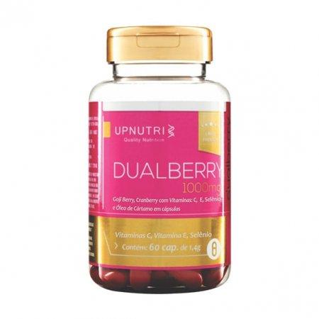 DualBerry e Vitamina C e E Upnutri 60 cápsulas