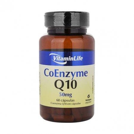 Coenzyme Q10 Vitaminlife 50mg 60 cápsulas