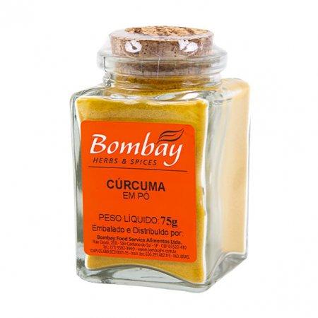 Cúrcuma Bombay em Pó vd 75g