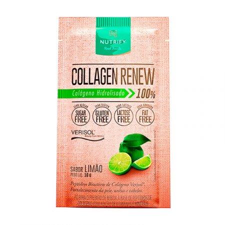 Collagen Renew Nutrify Limão Sachê 10g