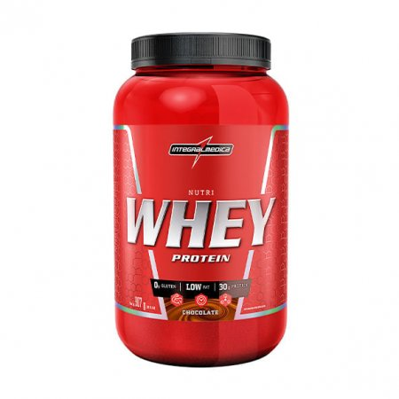 Nutri Whey Integralmedica Protein Chocolate 907g