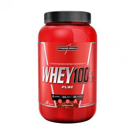 Super Whey 100% Pure Integralmedica Chocolate 907g