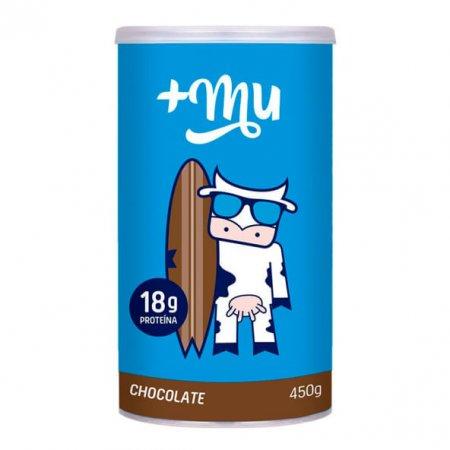 Pote de Proteína Mais Mu Chocolate 450g