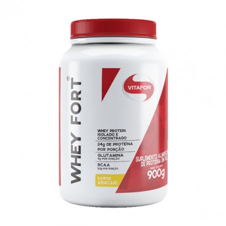 Whey fort Vitafor abacaxi 900g