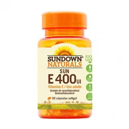 Sundown Vitamina E Sundown 400UI 30 cápsulas
