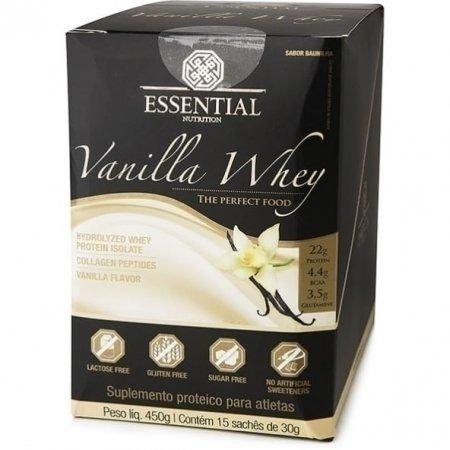 Vanilla Whey Essential Nutrition 15 x 30g