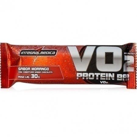 Barra Vo2 Protein Integralmedica Morango 30g