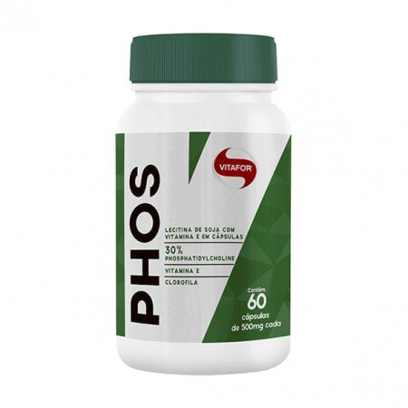 Phos Fosfatidilcolina Vitafor 60 cápsulas