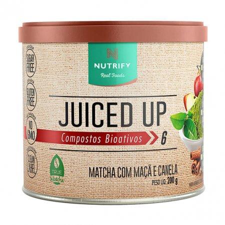 Juiced up matcha Nutrify maçã canela 200g
