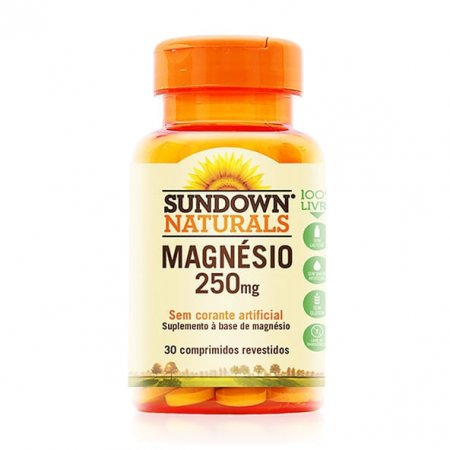 Magnésio Sundown 30 comprimidos