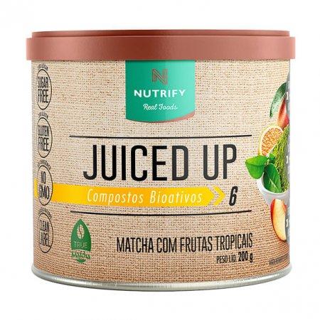 Juiced up matcha Nutrify frutas tropicais 200g