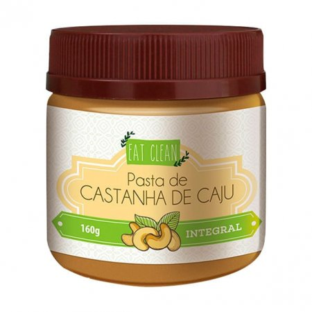 Pasta de Castanha de Caju Integral Eat Clean 160g